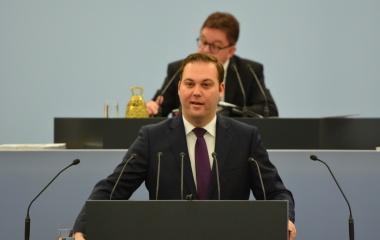 Plenarrede zum Mindestlohn im Landtag von Baden-Württemberg