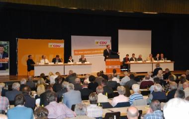 CDU-Kreisparteitag 2014 in Waldshut: Rede als Kreisvorsitzender