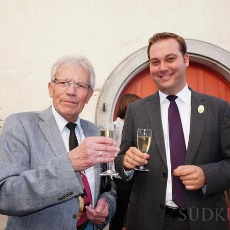 Schwyzertag 2014 mit dem früheren Bundestagsabgeordneten und Bürgermeister Werner Dörflinger