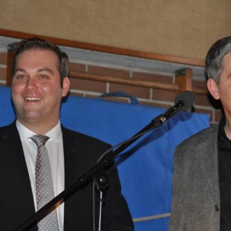 Präsident Felix Schreiner und Vizepräsident Ralf Eckert stellen das Programm vor