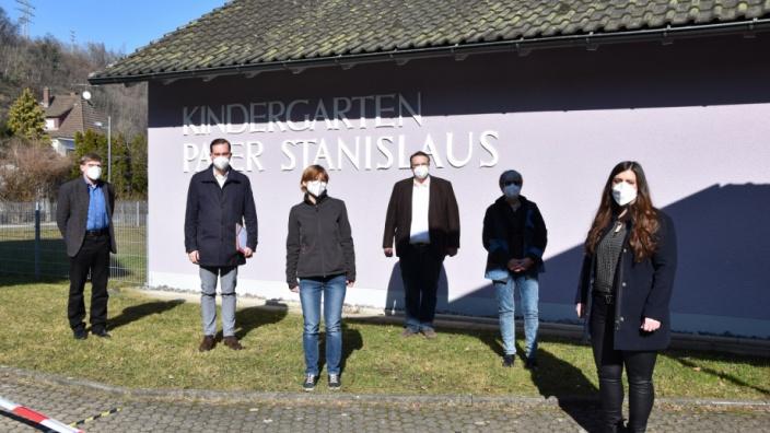 Förderung von Sprach-Kitas: Felix Schreiner informiert sich vor Ort